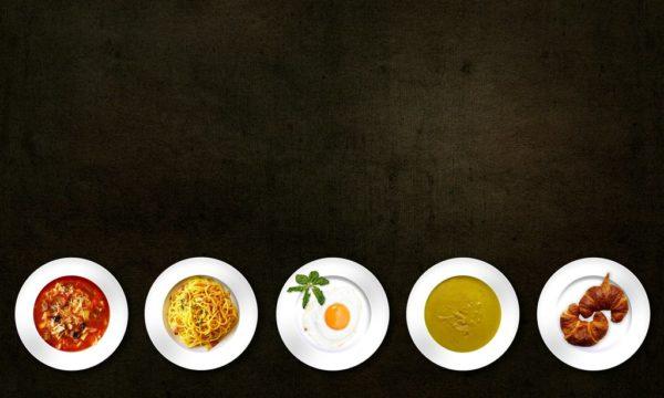 Oběd – snažte se dodržet tyto zásady